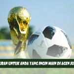Ikuti Peraturan Untuk Anda Yang Ingin Main Di Agen Judi Bola Terpercaya